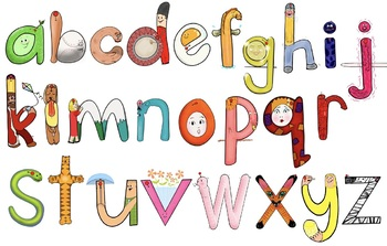 New ABC Wall Frieze + Flashcards