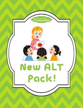 New Japanese Assistant Language Teacher (ALT) Pack!