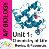 NEW AP Biology 2019: Review and Resources for Unit 1: Chem