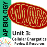 New AP Biology 2019: Review and Resources for Unit 3: Cell