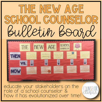 New Age School Counselor Bulletin Board By Counselor Clique Tpt