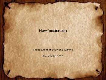 New Amsterdam PowerPoint