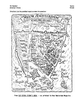 New Amsterdam and New York Comparison