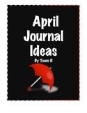 New April Journal Idea Cards