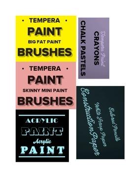Art Printables: Art Teacher Organization  Survival Kit