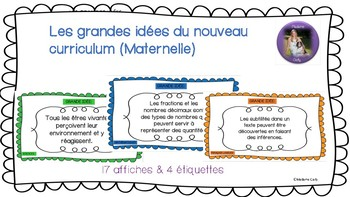 """New BC Curriculum """"Big Ideas"""" for Kindergarten French Immersion"""