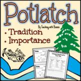 Potlatch: Northwest Coast Tradition NEW BC