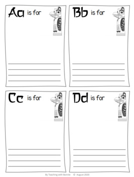 New BC Curriculum Words and Culture Organizer
