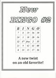 New BINGO #2