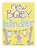 New Baby Bin and Maternity Binder!