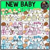 New Baby Clip Art Set {Educlips Clipart}