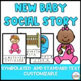 New Baby Sibling Social Story