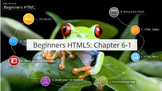 HTML for Beginners- CH.6, Part 1
