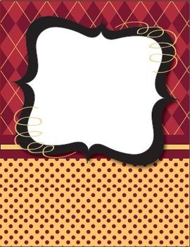 New!  Binder Covers and Coordinating Spines 2 - Editable!  Type Your Text