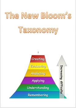 New Blooms Taxonomy