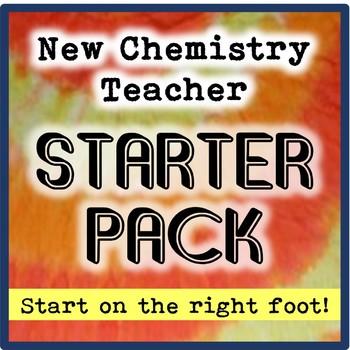 New Chemistry Teacher Starter Pack