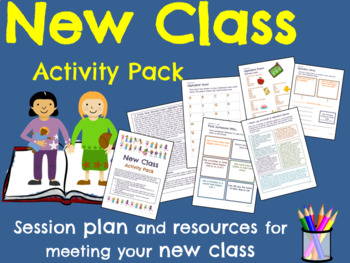 New Class Activity Pack (Back to School!)