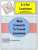 New Colonists to French Louisiana