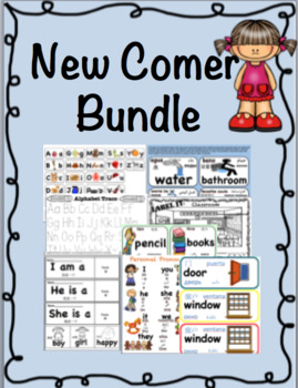 ESL New Comer Bundle with Translations in Spanish, Chinese, Arabic, Russian