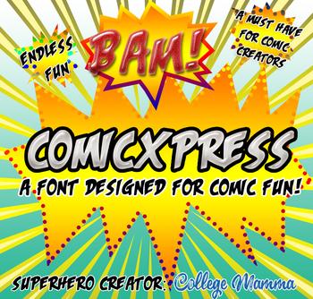 New Comic Font ComicXpress