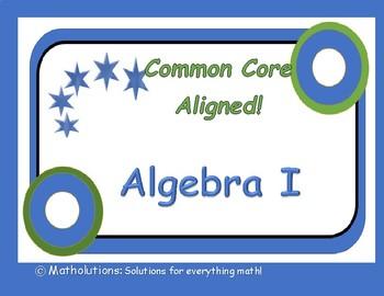 New Common Core Algebra Standards