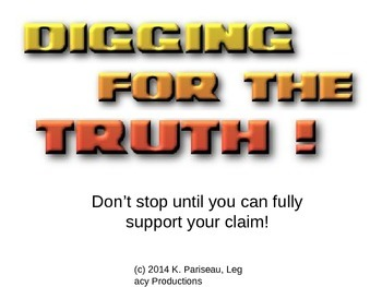 Conflicting interpretation or facts_Dig for the Truth