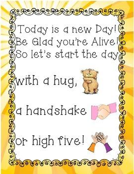New Day Poem