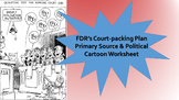 New Deal Court Packing Plan Primary Source Political Carto