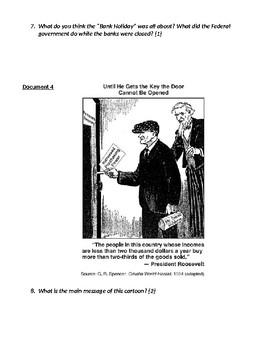 New Deal Documents Inquiry DBQ