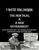 New Deal & Expanding the Fed: Common Core Research Lesson