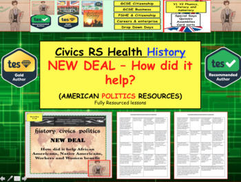 New Deal - How did it help Women, Native Americans and African Americans