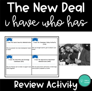 New Deal I Have, You Have Activity
