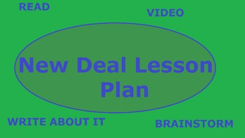 New Deal Lesson Plan