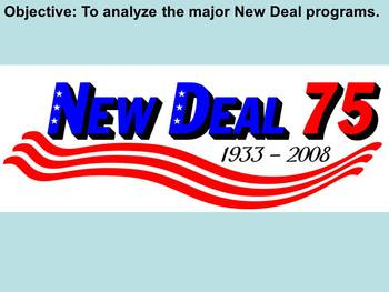 New Deal Programs PowerPoint Presentations