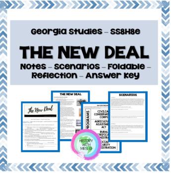 New Deal Programs in Georgia - SS8H8e GSE Aligned
