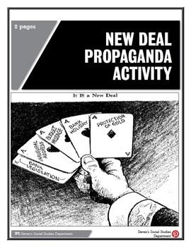 New Deal Propaganda Activity