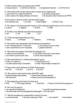 New Deal Test Editable