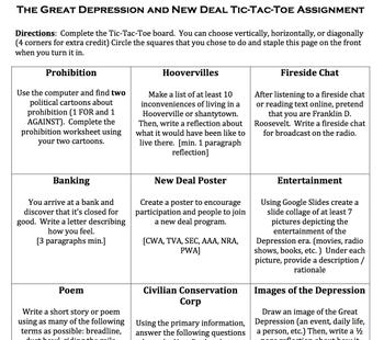 New Deal - Tic,Tac,Toe