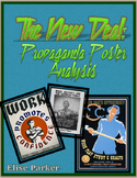 New Deal Worksheets -- Propaganda Poster Analysis Worksheets