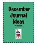 New December Journal Idea Cards