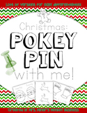 New Differentiated Pokey Pin Christmas Winter Fine Motor  Literacy Centers To Go