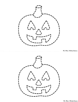 New Differentiated Pokey Pin Halloween & Fall Fine Motor  Literacy Centers To Go