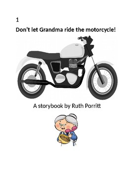 New! Don't let Grandma ride the motorcycle!