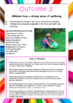 New EYLF Posters with Outcomes, Activities and Links to Theorists