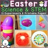 Easter Science Experiments & STEM Challenges (Print & Digi