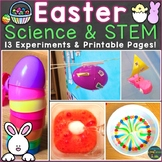 Easter Science Experiments & STEM Challenges (Print & Digital Options)