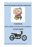 FREEBIE! K-2nd grade storybook {Don't let grandma ride the