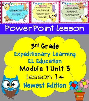 New Edition Expeditionary Learning EL Education 3rd Grd PowerPoint M1U3  L14