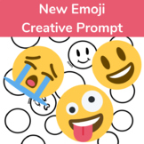 New Emojis Creative Drawing or Writing Prompt