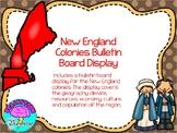 New England Colonies Bulletin Board Display